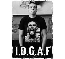 Nate Diaz, I.D.G.A.F. Photographic Print