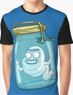 large bottle - RICK MORTY Graphic T-Shirt