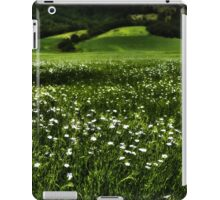 Grass Field And Flowers 1 iPad Case/Skin
