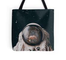 Space Dog Tote Bag
