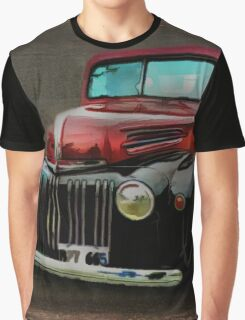 Two-Tone Truck Graphic T-Shirt