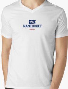Nantucket Island - Massachusetts. Mens V-Neck T-Shirt