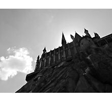 Hogwarts - Black and White Photographic Print