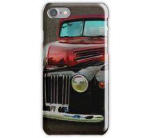 Two-Tone Truck iPhone Case/Skin
