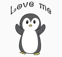 Love me Pengy One Piece - Long Sleeve