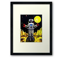 B-9 ROBOT LOST IN SPACE Framed Print