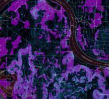 USGS TOPO Map Alabama AL Triana 305234 1948 24000 Inverted Sticker