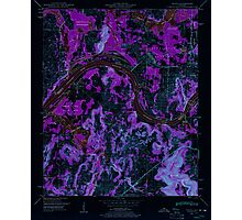 USGS TOPO Map Alabama AL Triana 305234 1948 24000 Inverted Photographic Print
