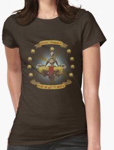 Embrace tranquility Womens Fitted T-Shirt
