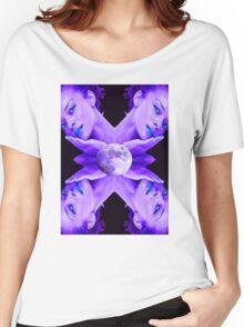 SELENE MOON GODDESS Women's Relaxed Fit T-Shirt