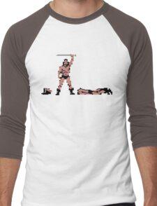 Barbarian Men's Baseball ¾ T-Shirt