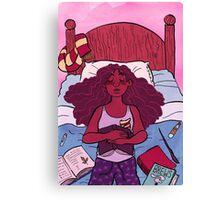 Hermoine needs sleep too Canvas Print