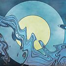 Water And Moon by CarolM