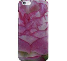Pink- edged Flower iPhone Case/Skin