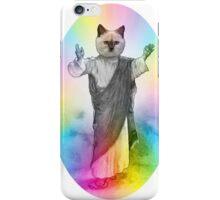 Jesus Cat 01 iPhone Case/Skin
