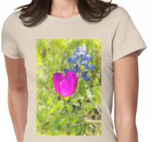 Cup of Blue Sunshine Womens Fitted T-Shirt
