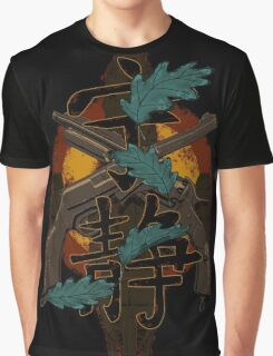Leaves on the Wind Graphic T-Shirt