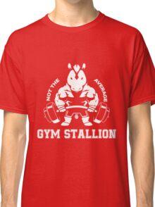 Not the average GYM STALLION Classic T-Shirt