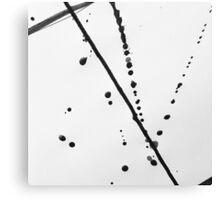 Ink Splatter Canvas Print