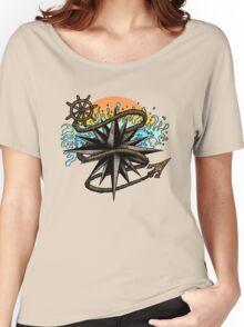 Nautical Splash Women's Relaxed Fit T-Shirt