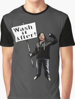 Wash It After Graphic T-Shirt
