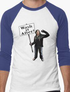 Wash It After Men's Baseball ¾ T-Shirt