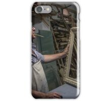 Satisfaction in his work iPhone Case/Skin