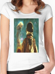 Lost in the Star Maker Women's Fitted Scoop T-Shirt