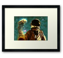 Lost in the Star Maker Framed Print