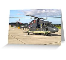 Royal Netherlands Navy Westland SH-14D Lynx Greeting Card