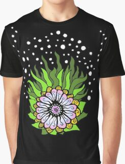 Ned's Atomic Flower Graphic T-Shirt