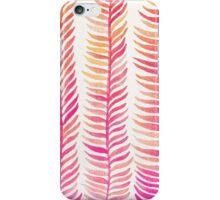 Pink Ombré Seaweed iPhone Case/Skin