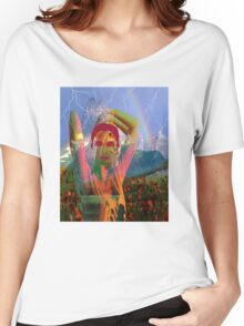 Fusion with the landscape Women's Relaxed Fit T-Shirt