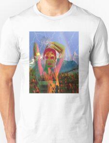 Fusion with the landscape Unisex T-Shirt