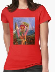 Fusion with the landscape Womens Fitted T-Shirt