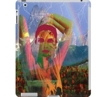Fusion with the landscape iPad Case/Skin
