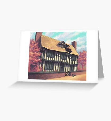 Tranquil house Greeting Card