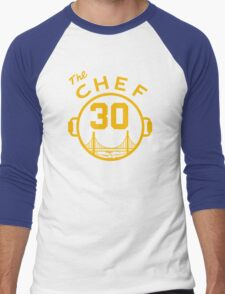 """Steph """"The Chef"""" Curry with the Pot Men's Baseball ¾ T-Shirt"""