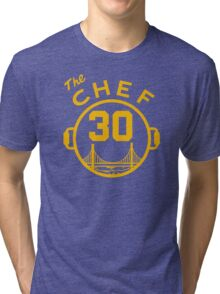 """Steph """"The Chef"""" Curry with the Pot Tri-blend T-Shirt"""