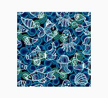 Sea life seamless pattern. Unisex T-Shirt