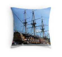HMS VICTORY Throw Pillow