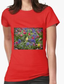 Spring Garden Womens Fitted T-Shirt