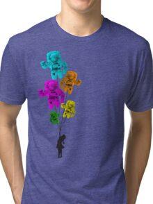 Astro girl Tri-blend T-Shirt