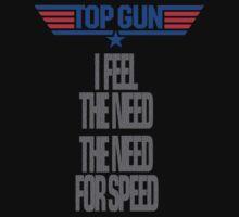 TOPGUN - NEED SPEED One Piece - Short Sleeve