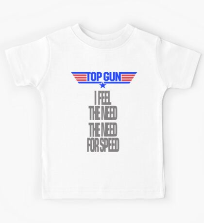 TOPGUN - NEED SPEED Kids Tee