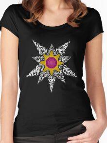 Pokemon Tribal - Starmie Pokemon Women's Fitted Scoop T-Shirt