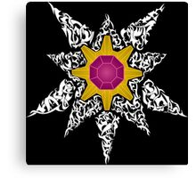 Pokemon Tribal - Starmie Pokemon Canvas Print