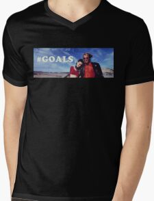 NATURAL BORN KILLERS - #GOALS Mens V-Neck T-Shirt