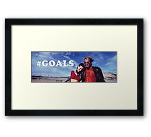 NATURAL BORN KILLERS - #GOALS Framed Print
