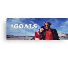NATURAL BORN KILLERS - #GOALS Canvas Print